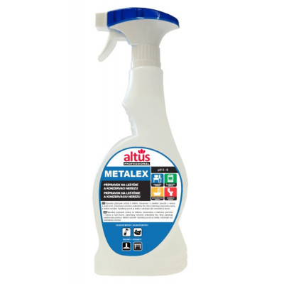 ALTUS Professional METALEX na nerez 750 ml