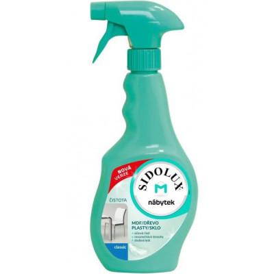 SIDOLUX M proti prachu CLASSIC 400 ml rozprašovač