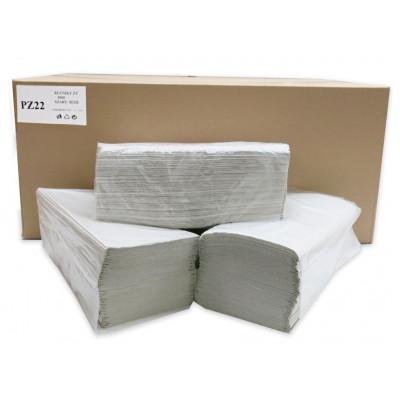 Papírové ručníky skládané Z-Z Economy, recyklát, 1-vrstvé...