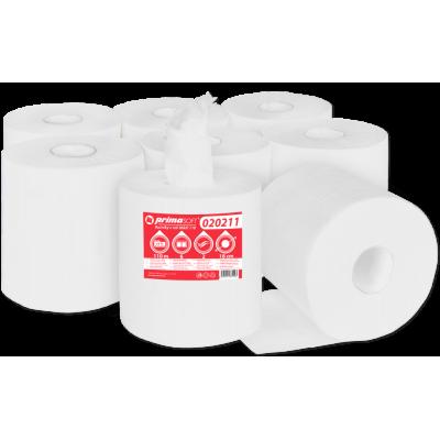 Papírové ručníky-utěrky MAXI , celulóza, 2-vrstvé bílé, 6...