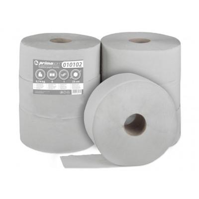 JUMBO 230 Ø, 1 vrstvý, šedý,recyklát, 205m návin-6rolí