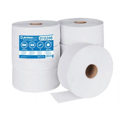 JUMBO 230 Ø, 2 vrstvý, 65% bělený recyklát, 175m návin-6rolí