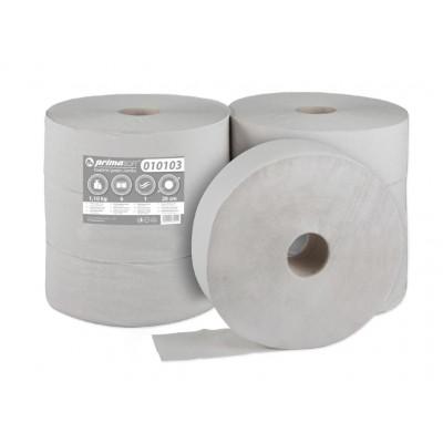 JUMBO 280 Ø, 1 vrstvý, šedý, recyklát, 375m návin-6rolí