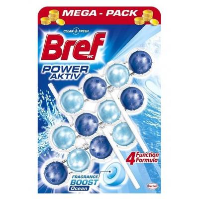BREF Blue Aktiv Chlorine WC blok 3 x 50 g