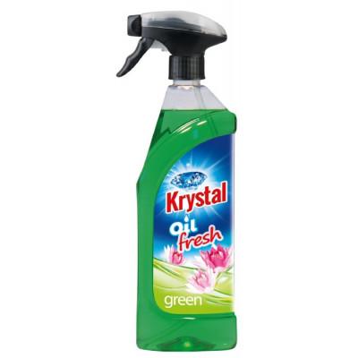 KRYSTAL olejový osvěžovač zelený, 750ml