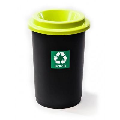 Odpadkový koš ECO BIN 50 l zelený