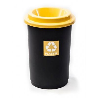 Odpadkový koš ECO BIN 50 l žlutý