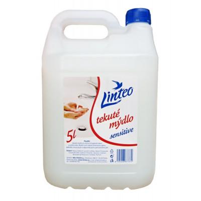 LINTEO Sensitive tekuté mýdlo 5 L