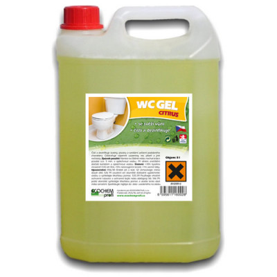 WC GEL Citrus 5l