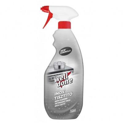 Well Done Inox čistič nerezu 750 ml rozprašovač