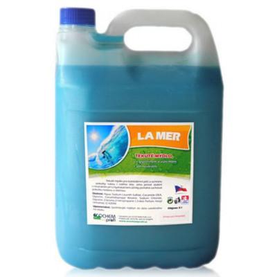 LA MER, tekuté mýdlo 5l s glycerinem s mořskou vůní