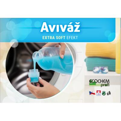 Aviváž Extra SOFT ECOCHEM, 200 dávek, 5 L