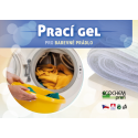 Prací gel ECOCHEM na barevné prádlo, 100 dávek, 3l